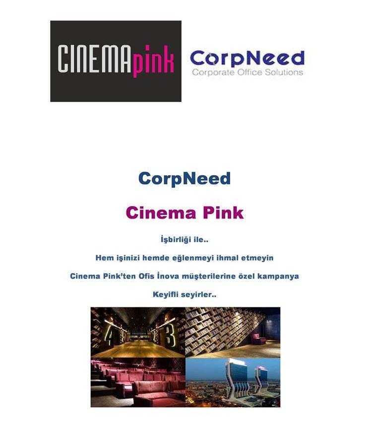Corpneed CinePink İşbirliği